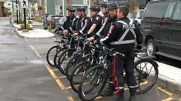 Bike Patrol Takes To Southside Streets Ctv Calgary News
