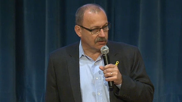 PC leader hopeful Ric McIver is under fire for attending the 'March for Jesus', a group which has made anti-gay comments, specifically that the southern Alberta floods in 2013 was because of God's anger over homosexuality.
