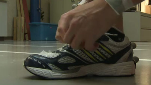 Running shoe research at the University of Calgary