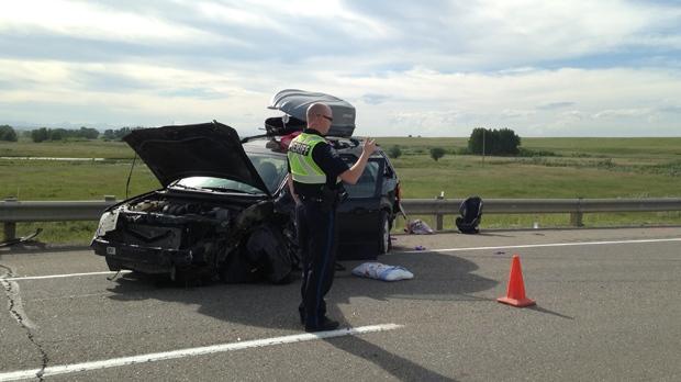 Highway 2 crash - July 4