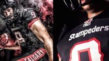 Stampeders new jersey