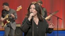Jann Arden performs on Canada AM, Thursday, Feb. 9, 2012.