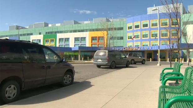The Alberta Children's Hospital in Calgary.