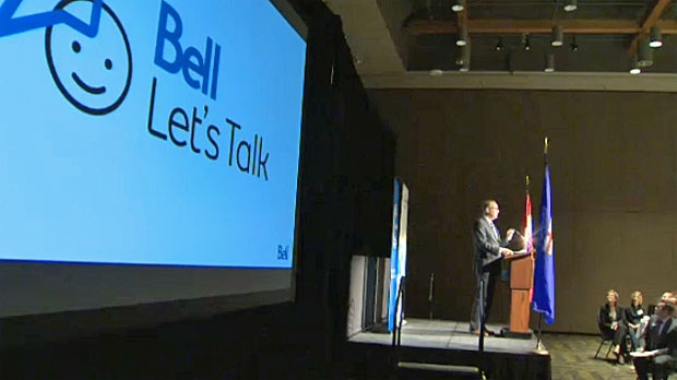 Bell Canada CEO George Cope speaks to Calgary's business community on Wednesday, October 8, 2014.