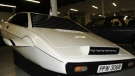 Screen shot is shown of an Ebay webpage listing the Lotus Esprit Submarine car from a 1977 James Bond movie. (Rick's Restoration / eBay)