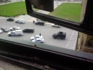 """MP Gerry Byrne tweets a photo with the caption """"Tactical unit on scene now"""" at 10:48 a.m."""