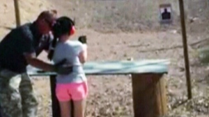 A shocking video from Arizona once again raised the question of gun control in the United States. A 9-year-old girl was at a firing range with her parents when an instructor began showing the girl how to fire an automatic Uzi. The gun, placed on full automatic, recoiled when she pressed the trigger and accidentally shot Charles Vacca, the instructor. Vacca later died of his injuries after being rushed to hospital. (Mohave County Sheriff's Office)