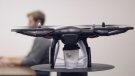 The 'Coffee Copter' is shown in this image captured from promotional video. (Vimeo/Coffee Copter)