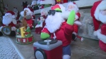 CTV Windsor: Thousands of Santas deck the halls