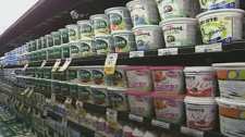 Yogurt comes in several flavours and styles and grocery store dairy cases are packed with choices.
