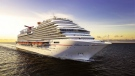 A concept drawing showing what the Carnival Vista is expected to look like. (Carnival Cruise Line)