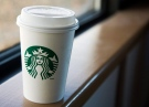 A Starbucks coffee cup is seen at a location in Halifax on Tuesday, March 8, 2011. (Andrew Vaughan / THE CANADIAN PRESS)