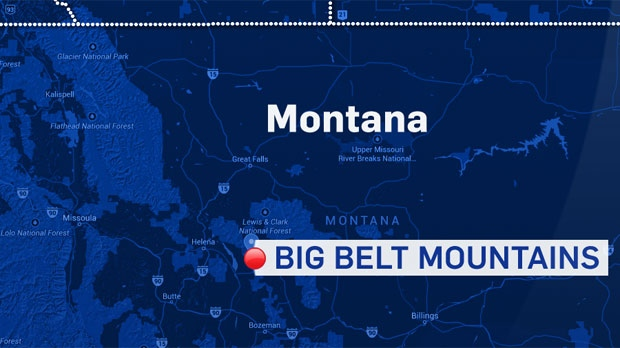 Montana authorities have confirmed that a Chestermere couple's small plane crashed in the Big Belt Mountains. The pilot was killed and the passenger, his wife, was sent to hospital in Helena.