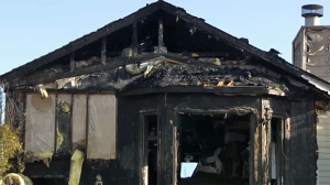 Two families were forced out of their Erin Woods homes by fire on Wednesday, April 22, 2015.