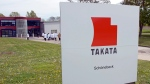 Takata Ignition Systems in Schoenebeck, Germany on Apr. 17, 2014. (Jens Meyer / AP)