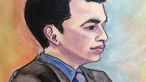A judge has ruled that Matthew de Grood, accused of murdering five people at a home in Brentwood in April 2014, will stand trial in May 2016. (Sharon Sargent)