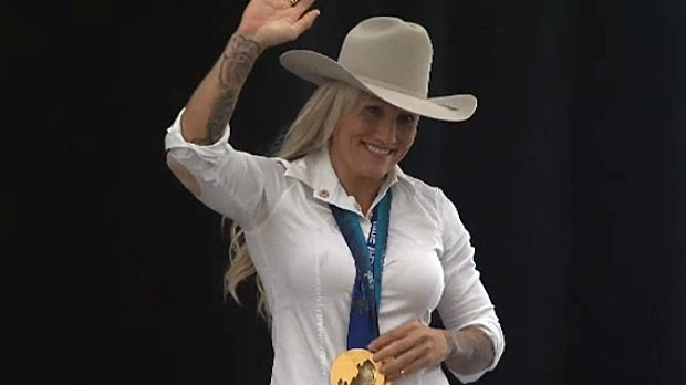Kaillie Humphries Named 2015 Calgary Stampede Parade