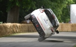 Terry Grant breaks two-wheeled world record in Nissan Juke NISMO RS