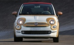Custom Fiat 500 features mahogany, a picnic basket and honey-coloured leather (Photo: FCA)