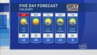 CTV Calgary: Forecast: Warm weekend continues