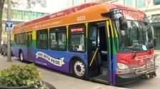 Calgary Transit - Pride bus
