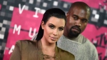 Kim Kardashian, left, and Kanye West arrive at the MTV Video Music Awards at the Microsoft Theater on Sunday, Aug. 30, 2015, in Los Angeles. (Jordan Strauss / Invision / AP)