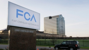 Chrysler World Headquarters in Auburn Hills, Mich. (AP Photo/Carlos Osorio, File)