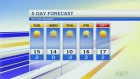 Forecast: Warm trend continues in Calgary
