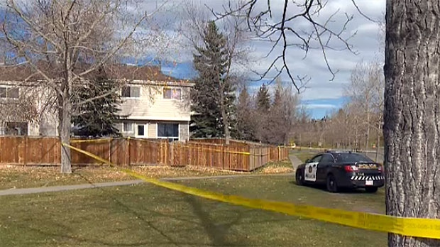 A woman was found dead in a townhouse in Ranchlands on Sunday, October 11, 2015.