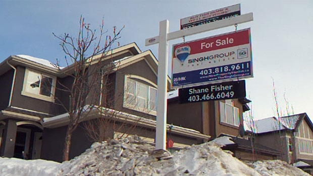 Royal LePage says that home prices in Calgary and Edmonton are expected to decline in 2016 at a moderate rate of three and two percent respectively.