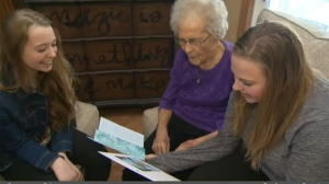 Mary MacDonald - centenarian Food Bank