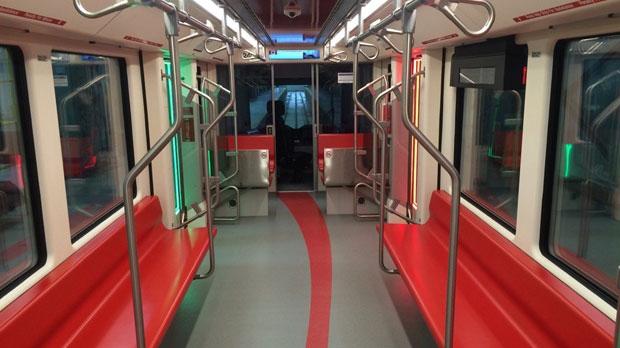 Calgary Transit - Mask cars