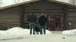 Sheepdog Lodge is a 1500 sq ft, refurbished, four-season, rustic, vintage log cabin located east of Ponoka.