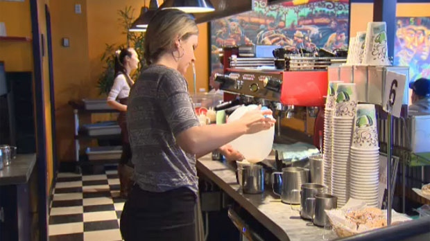 Brittany Clark, a barista/server at Cadence Coffee, brought the Pay It Forward idea to the northwest coffee shop