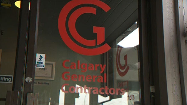CGC closed its door in Calgary leaving a number of clients with unfinished work.