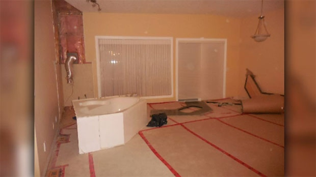 An Okotoks woman says she paid $160,000 to CGC to renovate her home and this is what she was left with.
