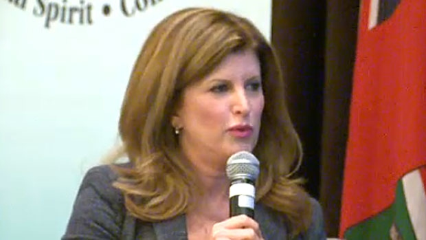 Rona Ambrose, the interim leader of the federal Tories, will be speaking in Calgary on Thursday.