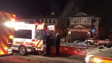 Mahogany house fire