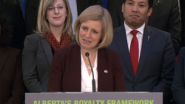 Premier Rachel Notley says, following a five-month-long royalty review of the Alberta energy industry, the royalty rates will remain as is.