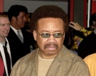 In this July 7, 2003 file photo, Maurice White, of Earth, Wind, & Fire, appears at an induction ceremony at the Hollywood Rock Walk in the Hollywood section of Los Angeles. (AP / Matt Sayles)