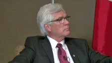 JIm Carr in Calgary to meet with business leaders