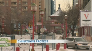Calgary's Chinese community plans protest
