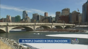 CTV Calgary: Charges laid in drug trafficking oper
