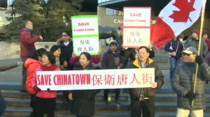 Chinatown fights high rise