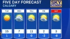 Calgary weather February 8, 2016
