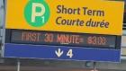 Calgary airport parking