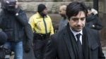 Former CBC radio host Jian Ghomeshi leaves a Toronto courthouse following day six of his trial on Tuesday, Feb. 9, 2016. (Chris Young / THE CANADIAN PRESS)