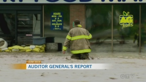 Auditor general releases flood report
