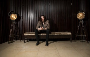 Musician Andrew Hozier-Byrne, known as Hozier, poses for portraits in west London, Friday, Jan. 29, 2016. (Photo by Joel Ryan/Invision/AP)