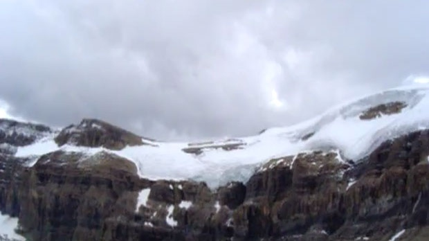 Mountains near Bow Hut in Banff National Park. (courtesy: Youtube)